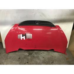 Motorkap rood M 306 Aixam...